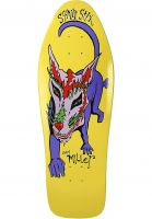 Schmitt-Stix Skateboard Decks Chris Miller Dog Large Full Size yellow Vorderansicht