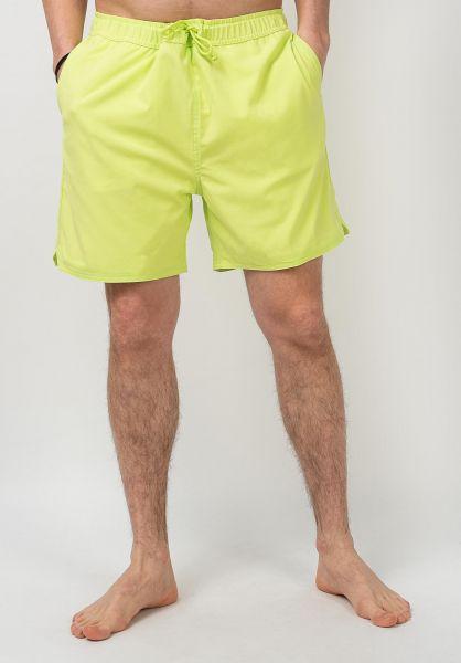 Carhartt WIP Beachwear Aran Swin Trunk lime vorderansicht 0205366