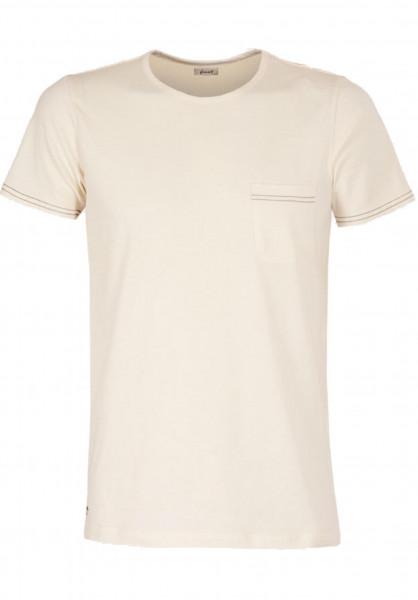 Forvert T-Shirts Toldi beige Vorderansicht