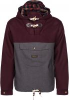 Turbokolor Windbreaker Freitag brown-grey Vorderansicht