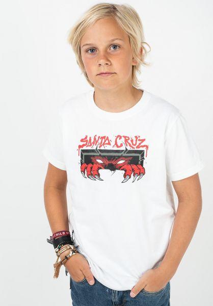 Santa-Cruz T-Shirts Youth Unknown white vorderansicht 0322550