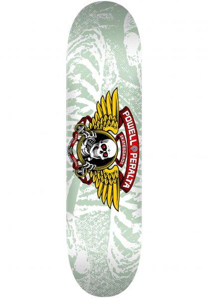 Powell-Peralta Skateboard Decks Winged Ripper Birch white vorderansicht 0260294