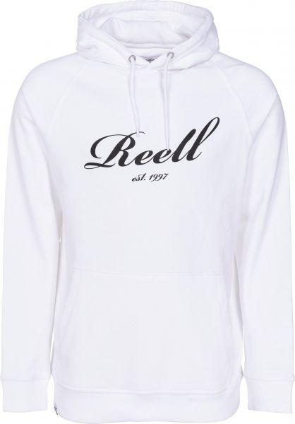 Reell Hoodies Big Logo Hoodie snowwhite Vorderansicht