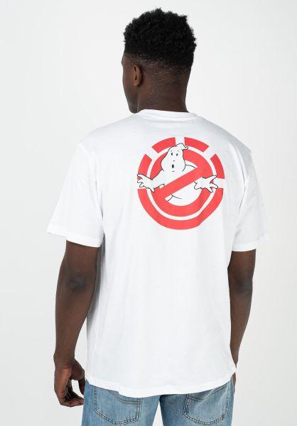 Element T-Shirts x Ghostbusters Banshee opticwhite vorderansicht 0322451