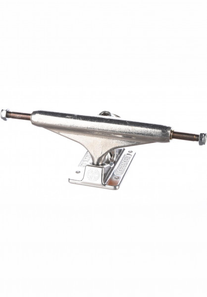 Independent Achsen 144 Stage 11 Forged Titanium silver Vorderansicht