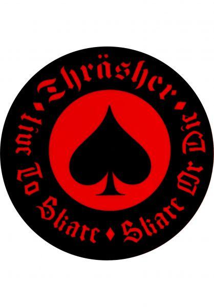 Thrasher Verschiedenes Oath Sticker red Vorderansicht