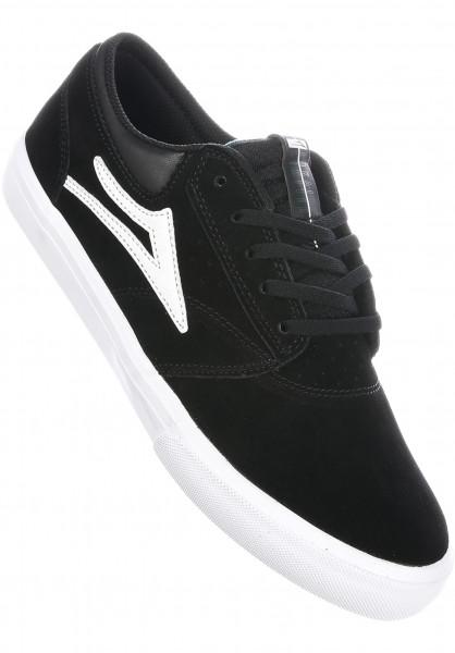 Lakai Alle Schuhe Griffin black-white-white Vorderansicht