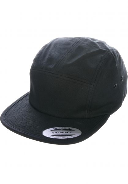 Flexfit Caps Jockey Cap black vorderansicht 0566390
