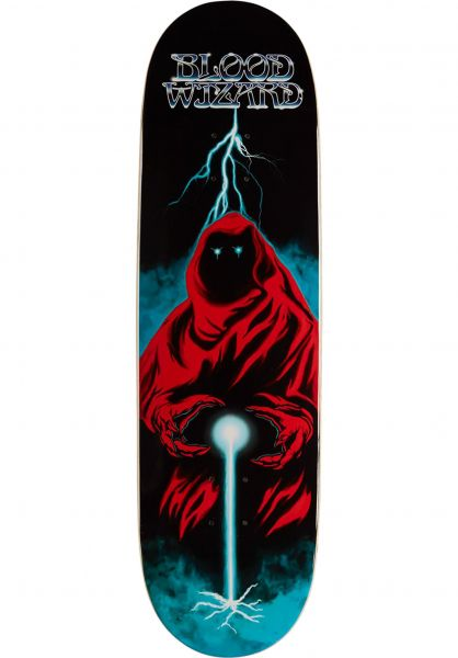 Blood Wizard Skateboard Decks Crimson Wanderer black vorderansicht 0266304