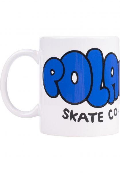 Polar Skate Co Verschiedenes Bubble Logo white-blue vorderansicht 0972801