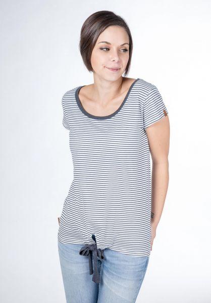 alife and kickin T-Shirts Tina cloudy-stripes vorderansicht 0399913