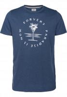 Forvert-T-Shirts-Populus-bluemelange-Vorderansicht