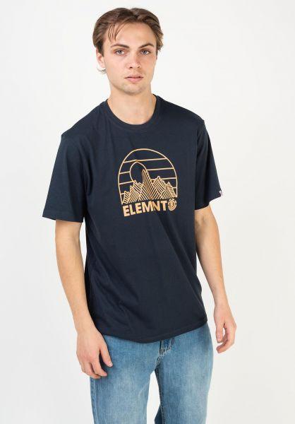 Element T-Shirts Kozy eclipsenavy vorderansicht 0322619