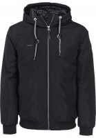 Ragwear Winterjacken Percy black Vorderansicht