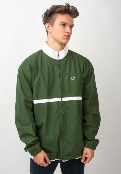 Magenta Übergangsjacken Cotton Sport darkgreen-white vorderansicht 0504443