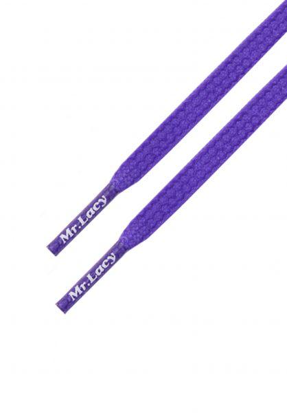Mr. Lacy Schnürsenkel Goalies violet vorderansicht 0640027