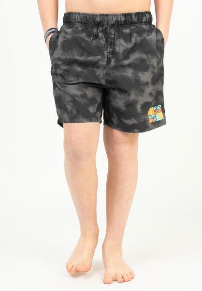 Rip Curl Shorts Oceanz Volley Boardshorts black vorderansicht 0205515