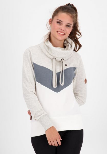 alife and kickin Sweatshirts und Pullover Sunshine white 121 vorderansicht 0445583