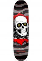 Powell-Peralta Skateboard Decks Ripper Birch Mini one off-grey-red Vorderansicht