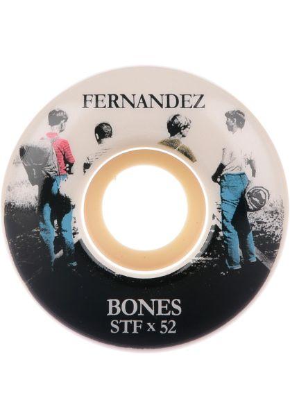 Bones Wheels Rollen STF Fernandez Con Amigos 83B V3 white vorderansicht 0134421