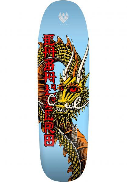 Powell-Peralta Skateboard Decks Flight Pro Shape 192 Caballero Ban This 02 lightblue vorderansicht 0262092