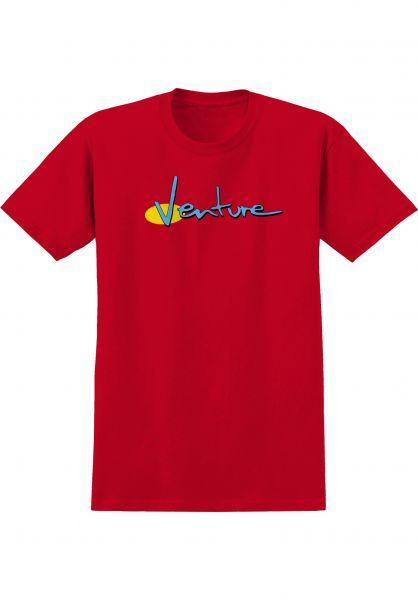Venture T-Shirts 90s red-blue-yellow vorderansicht 0321209