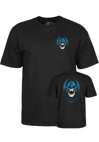 Powell-Peralta T-Shirts Welinder Nordic Skull black Vorderansicht