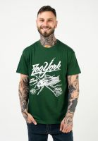 zoo-york-t-shirts-roach-bottlegreen-vorderansicht-0323315