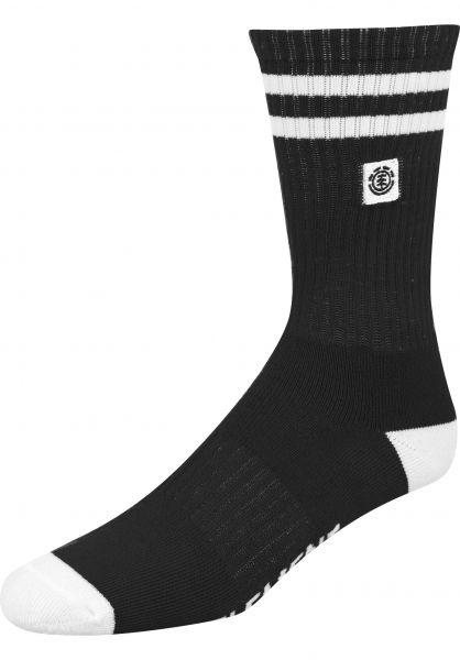 Element Socken Clearsight flintblack vorderansicht 0631674