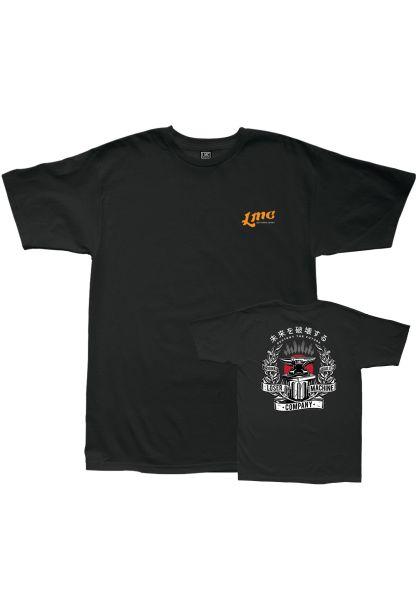 Loser-Machine T-Shirts Iron Block black vorderansicht 0399543