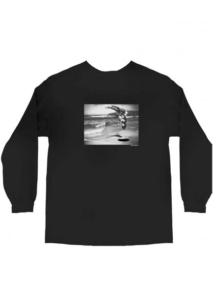 Skate-Mental Longsleeves It´s not going to be okay black vorderansicht 0383405