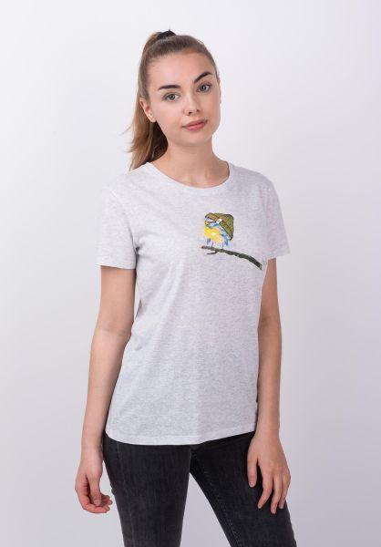 iriedaily T-Shirts It Birdy whitemelange vorderansicht 0320025