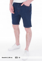 Turbokolor Jeansshorts Denim navy Vorderansicht