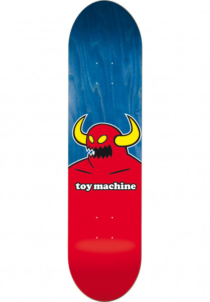 Toy-Machine Skateboard Decks Monster natural Vorderansicht