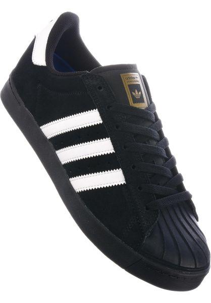 quality design c39f8 7bc9f adidas-skateboarding Alle Schuhe Superstar Vulc ADV black-white-gold  vorderansicht 0604496