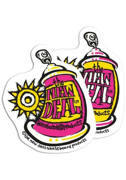 New-Deal Verschiedenes Spray Can Sticker 10er Pack multi vorderansicht 0972347