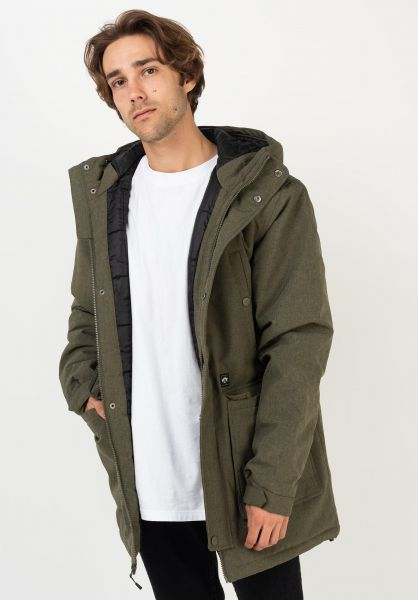 Billabong Winterjacken Alves militaryheather vorderansicht 0230169
