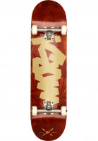MOB-Skateboards Skateboard komplett Tape Desk red Vorderansicht