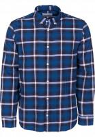 Carhartt WIP Hemden langarm Lamont Shirt lamontcheck-deepsea Vorderansicht