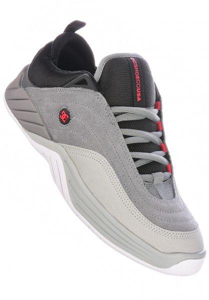 DC Shoes Alle Schuhe Williams Slim grey-black-red vorderansicht 0604730
