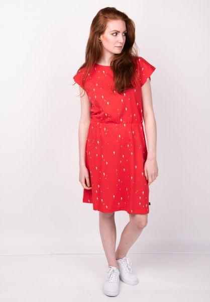 Forvert Kleider Pulau red-flash vorderansicht 0801370