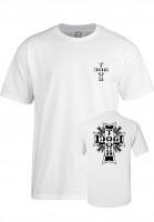 Dogtown T-Shirts Cross-Logo white Vorderansicht