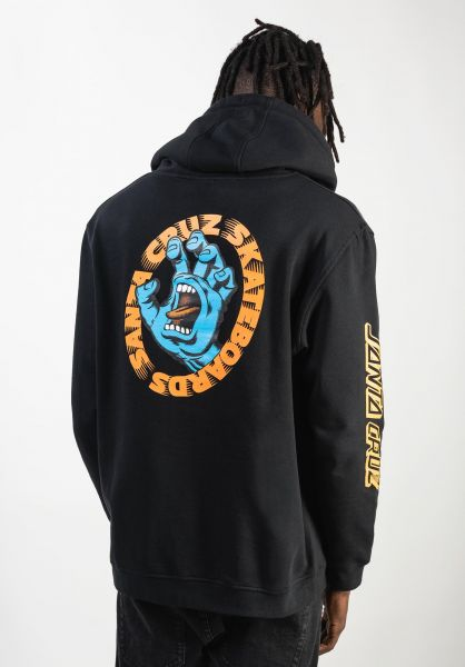 Santa-Cruz Hoodies Santa Cruz Scream black vorderansicht 0445361