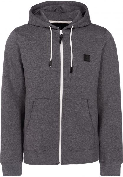 Element Zip-Hoodies Heavy charcoalheather vorderansicht 0454754