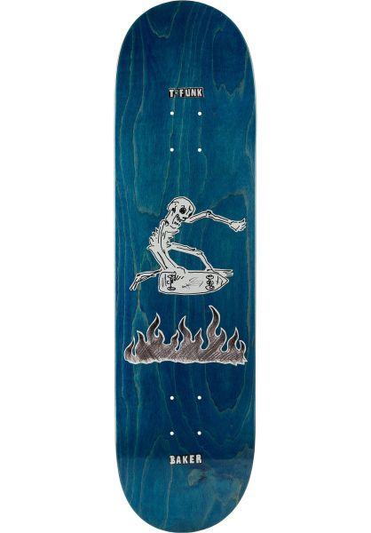 Baker Skateboard Decks T-Funk Cremation Mayhem blue vorderansicht 0263411