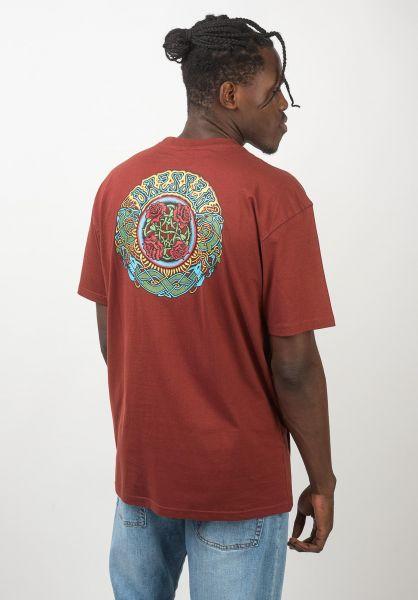 Santa-Cruz T-Shirts Dressen Roses brick vorderansicht 0320432