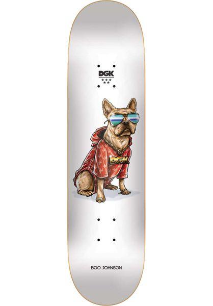 DGK Skateboard Decks Boo Frenchy white vorderansicht 0261880