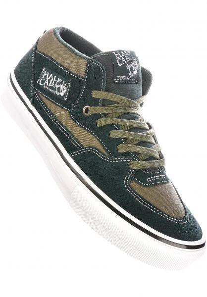 Vans Alle Schuhe Skate Half Cab scarab-military vorderansicht 0604962