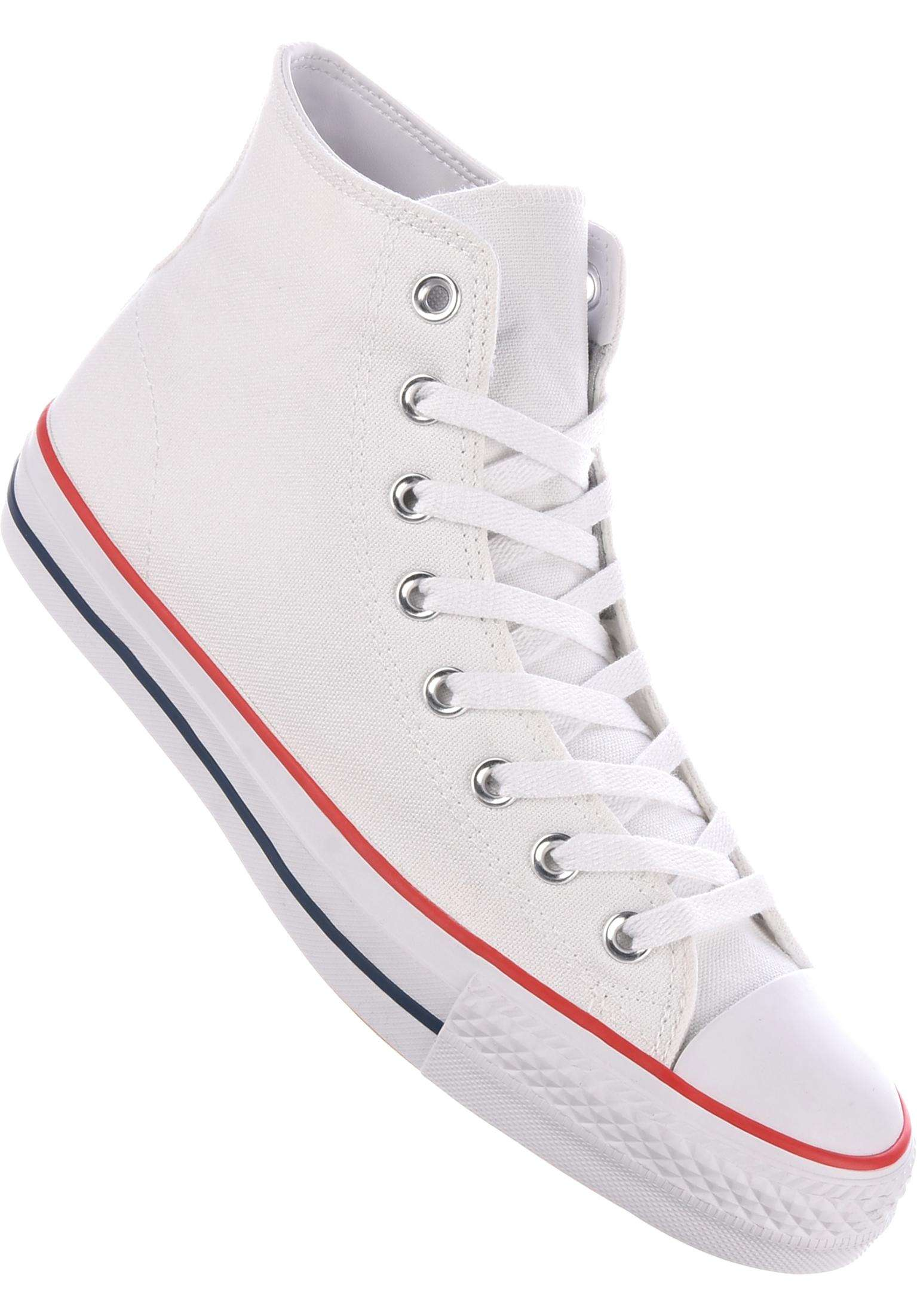 0afc2df51417 CTAS Pro Hi Converse CONS All Shoes in white-white for Men
