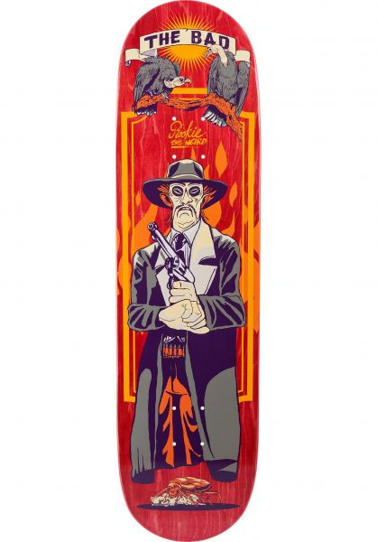TITUS Skateboard Decks The Bad red-orange vorderansicht 0261349